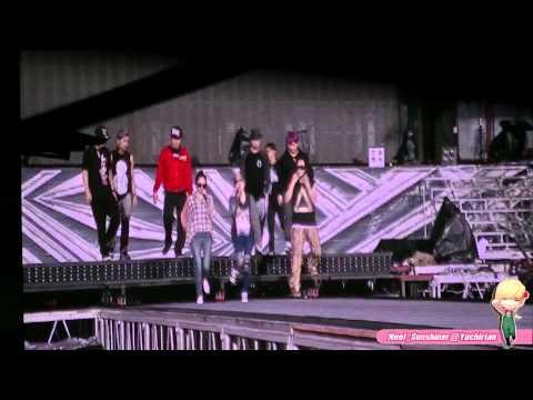 121124 [SM Town in BKK] The Jung sis Rehearsal California gurl