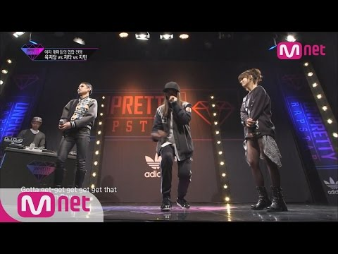 [Unpretty Rapstar] ep.04 : Cheetah vs Yuk JiDam vs Jimin 1:1 Battle(날 막을테면 막아봐라! 육지담 vs 치타 vs 지민)