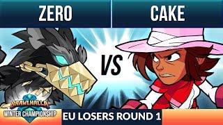Cake vs Zero - L Round 1 - Winter Championship EU 1v1 Top 8