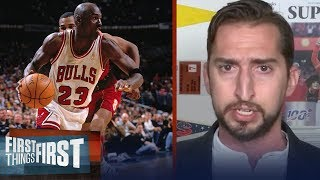 """The Last Dance"" shows Michael Jordan's rise was instant — Nick Wright 