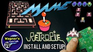 How To:  Install RetroPie 4.4 and Setup MAME on a Raspberry Pi 3B+ Play ARCADE GAMES!
