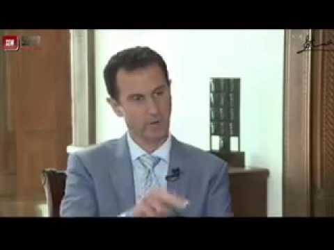 شاهد|| رد فعل بشار الاسد بعد أن شاهد صورة الطفل عمران