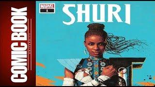 Shuri #1   COMIC BOOK UNIVERSITY