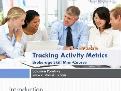 Tracking Activity Metrics - A Training Course for Commercial Real Estate Agents