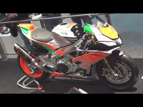 @Aprilia RSV4 FW-STK (2017) Exterior and Interior in 3D