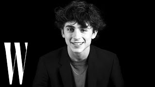 Timothée Chalamet Talks Hollywood Rejection and Auditioning for 'Beautiful Boy' | W Magazine