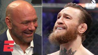 Dana White: Conor McGregor destroyed Donald 'Cowboy' Cerrone in TKO win | UFC 246 | ESPN MMA