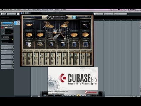 Addictive Drums in Cubase Multitrack output and  separate audio tracks