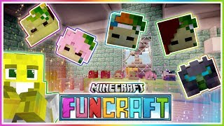 Collecting Youtuber Heads! | Funcraft | Ep.15