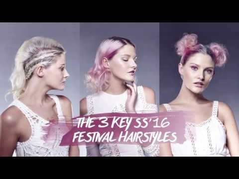 The 3 key SS'16 Festival Hairstyles | Tutorial