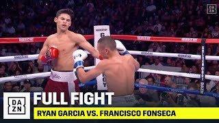 Ryan Garcia VICIOUSLY KOs Francisco Fonseca In Round 1