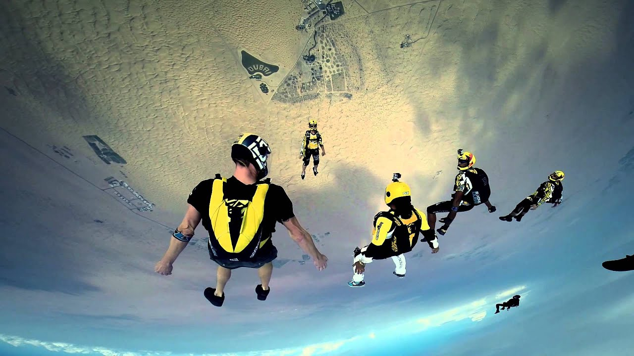 The Best Skydiving And Base Jump Videos - Magazine cover