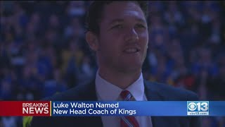 Kings Hire Luke Walton