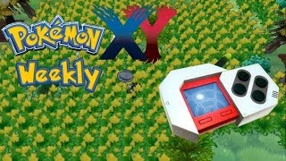 Pokemon X & Y Weekly - How to use the Pokeradar to search for Shiny Pokemon