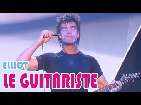 Elliot : The crazy guitar player...