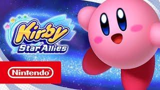 Kirby Star Allies - Launch trailer (Nintendo Switch)