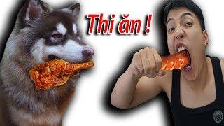 NTN - Thử Thách Thi Ăn Với Gấu Alaska (Eating with an Alaska dog competition)