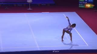 Simone Biles Floor Event Finals 2019 World Championships
