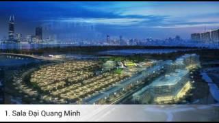 Thủ thiêm(Saigon)-Phố đông(Shanghai) Điểm danh 4 dự án hoàn thành 2018