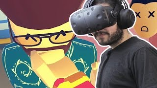 SOCIAL INTERACTION - REC ROOM HTC Vive Virtual Reality