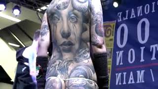 Cuộc thi xăm hình thế giới ở Frankfurt 2017 Tattoo Convention Frankfurt