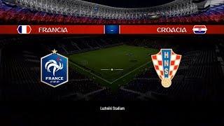 Francia vs Croacia | LA GRAN FINAL | Simulación | Mundial Rusia 2018