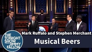 Musical Beers with Mark Ruffalo and Stephen Merchant