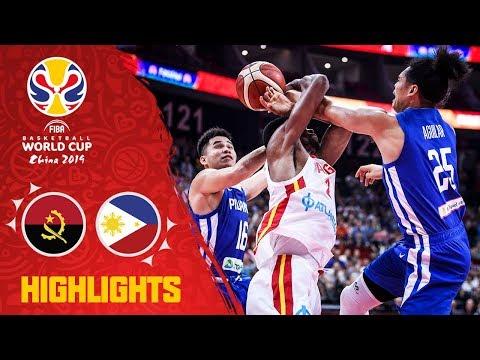 Angola v Philippines - Highlights - FIBA Basketball World Cup 2019