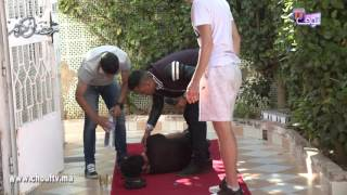 مقلب خطير طاح فيه النجم المغربي يوسف القديوي   |   طاخ فالفخ مع شوف تيفي