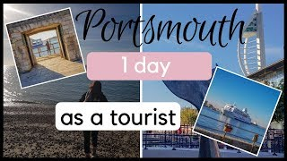 How to spend 1 day in Portsmouth in United Kingdom? - travel vlog