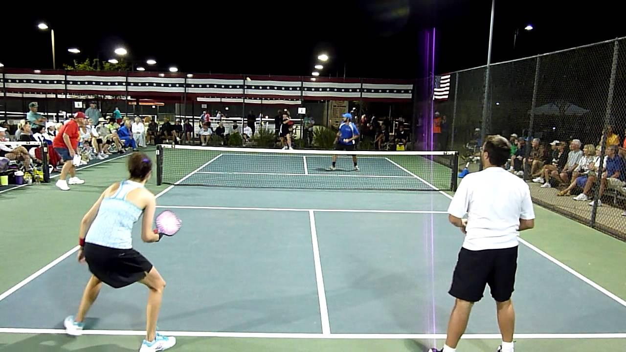 USAPA Pickleball Nationals 2013 Mixed Doubles 19 ...