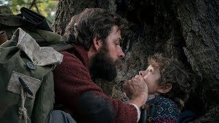 A QUIET PLACE Trailers - Emily Blunt & John Krasinski 2018 Horror Movie