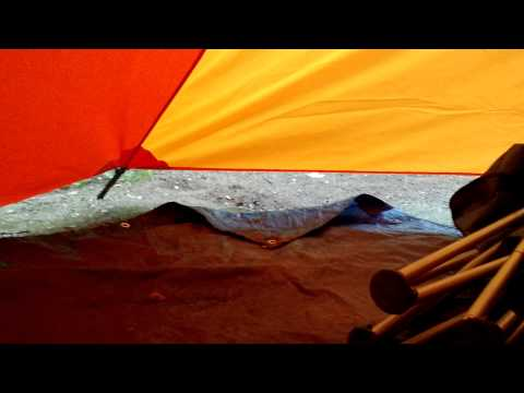Marmot Halo 6P Tent in rain & Marmot Halo 6P - Set Up u0026 Review Musica Movil | MusicaMoviles.com