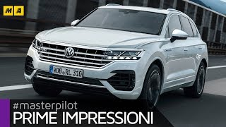 Volkswagen Touareg 2018, test drive con il 3.0 V6 TDI da 286 CV (4k video)