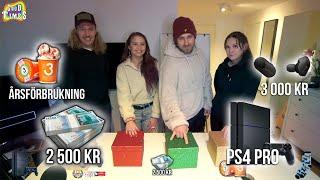 SISTA SOM SLÄPPER VINNER 10.000 kr MYSTERY BOX