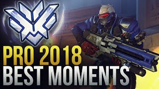 BEST PRO OVERWATCH MOMENTS 2018