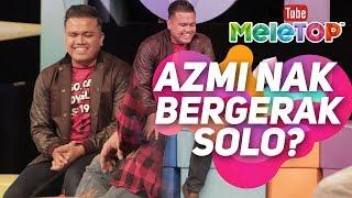 Azmi Caliph Buskers pemenang AJL nak bergerak solo? Apa kata Faizal Tahir I Awie & Erra Hos MeleTOP
