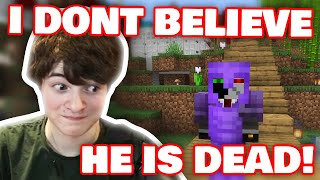 Tubbo And Ranboo REACTS To Tommy's DEATH In PRISON! DREAM SMP