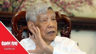 Nguyên tổng bí thư Lê Khả Phiêu trả lời PV trước Hội nghị trung ương 6- Tuổi Trẻ Online | tuoitre.vn