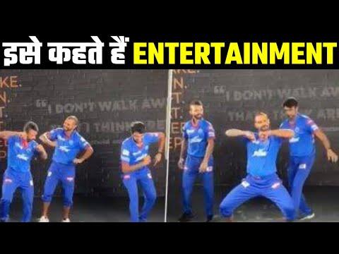 Watch: Shikhar Dhawan teaches Bhangra to teammates
