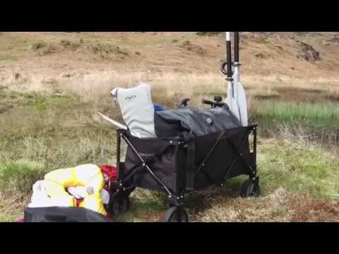 video Outwell Transporter – Useful for more than just camping