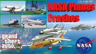 GTA V: NASA Plane Pack Best Extreme Longer Crash and Fail Compilation 60FPS