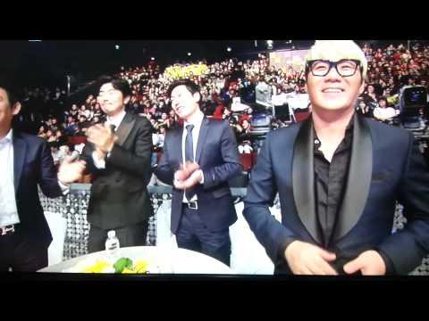 20131229 MBC 연예대상 2부 오프닝 박명수 축하공연 - 강북 멋쟁이(정형돈)