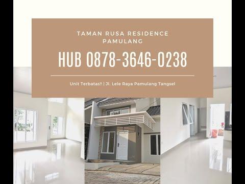 Call/WA 0878-3646-0238, Perumahan Pinggir Jalan Bambu Apus Pamulang