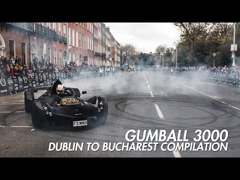 Gumball 3000 - Dublin to Bucharest Compilation