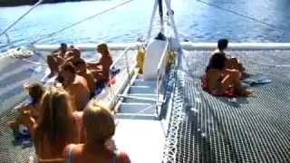 Catamarán en cancún
