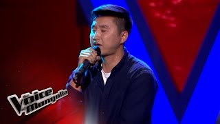 "Bilguun.M - ""Lose Yourself"" - Blind Audition - The Voice of Mongolia 2018"