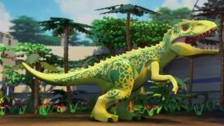 The Indominus Escape - LEGO Jurassic World Mini Movie - Part 3