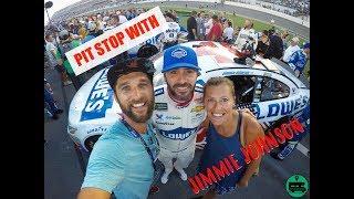 NASCAR Experience with Jimmie Johnson - Daytona Speedway SocialMadics
