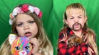 Local four-year-old goes viral after making Tiger King parody portraying Joe Exotic and Carole Baski